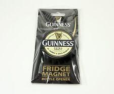 Guinness Extra Stout Cap Magnet Bottle Opener NEW magnetic