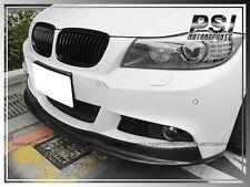BMW E90 E91 Facelift 09-11 AK Style Carbon Fiber w/ M-Tech Front Bumper Lip 4Dr