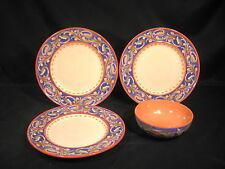 Pfaltzgraff Villa Della Luna 3 Dinner Plates - 1 Soup/Cereal Bowl Pieces 4