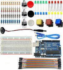 [Sintron] UNO R3 Light Starter Kit for Arduino AVR MCU learner + PDF Study Files