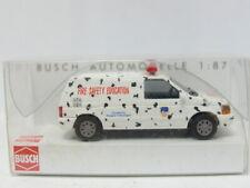 BUSCH 44653 Dodge Ram Van Fire Safety Education OVP 1:87 (MW5824)