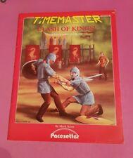 Clash of Kings-Timemaster ADVENTURE rpg di ruolo Viaggi nel tempo Roleplay fuori catalogo