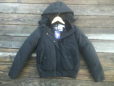NWT Penfield Hanford Jacket Hooded Size Small Black $335 Down