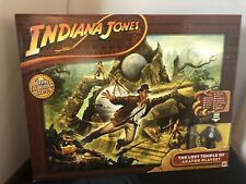 Indiana Jones The Lost Templo De Akator Playset sin usar y en caja sellada Reino Cristal Cráneo