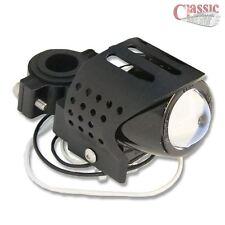 Universal Negro Moto Niebla Auxiliar Luz Ronda Personalizada Estilo Harley