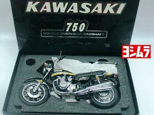 WOW EXTREMELY RARE Kawasaki 750 ZII A Yoshimura 1973 Green 1:12 Wit's-Minichamps