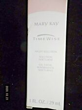 Mary Kay TimeWise Night Solution 1 fl oz ships free