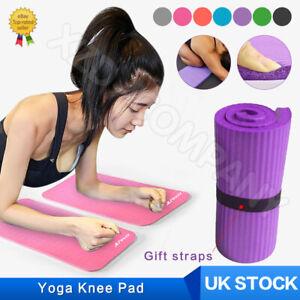 Yoga Knee Pad Cushion Soft Foam Yoga Knee Mat Support Gym Fitness Exercise UK