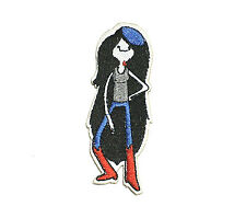 Adventure Time Marceline the Vampire Queen iron on patch 92mm x 32mm
