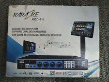KARAOKE Machine (KOD-8H)  - Professional Karaoke on Demand
