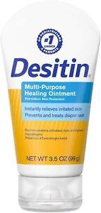 Desitin Multi Purpose Healing Ointment Diaper Rash Baby 3.5 Oz Skin Protectant