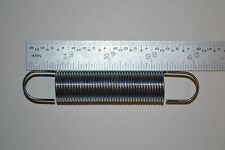 "steel extension spring 3/4"" coil dia 4"" oal .60 wire dia 2-1/2"" coil length."