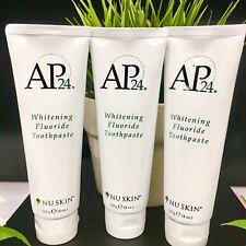 AUTHENTICS 3 TUBES  AP-24 Toothpaste Whitening Fluoride Nu-skin Ap24 Exp 2021