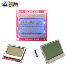 White/Blue 84*48 Nokia 5110 LCD Display Screen Module for Arduino DIY