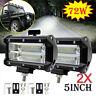 2X 72W LED LUCE FARO 12V 24V LAMPADA DA LAVORO FARETTO AUTO BARCA CAMION SUV
