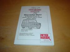 MERCEDES G CLASS 460 461 WAGON 230 240 250 280 300 GD GE Owners Manual Handbook