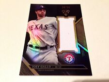 Joey Gallo 2016 TOPPS Triple Threads Wood refractor GAME USED jersey #/Texas 36