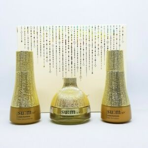 SU:M37 Losec Summa Elixir Gift Set Kit 3 items Anti Aging K-Beauty