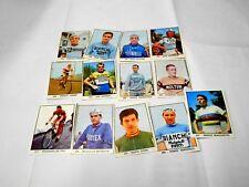 CAMPIONI dello SPORT 1966 1967 panini 13 figurine diverse ciclisti