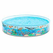 In - Kinder Planschbecken Pool Korallenriff 2089l 244x46cm