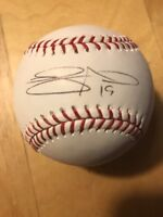 Laynce Nix Autograph Signed OMLB Official Major-League Baseball Mlb Holgram