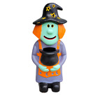 Vintage 1998 Paper Magic Group Foam Blow Mold Witch Candy Holder Trick Or Treat