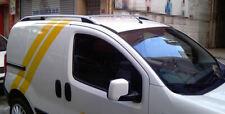 Barres de toit pour Fiat Fiorino 2008> longitudinales aluminium silver EN STOCK