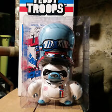 """TEDDY TROOPS Flying Fortress LE MANS Racer Urban Vinyl DUNNY 10"""" Lemans LIMITED"""