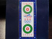 2006 Torino Olympic Team USA Curling Pin