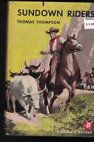Sundown Riders Thomas Thompson HC DJ 1950 Double D Western