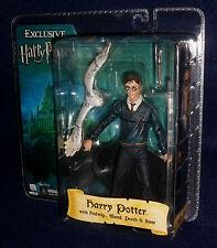 "Harry Potter Order of the Phoenix HARRY POTTER & HEDWIG 7"" Figure Exclusive NECA"