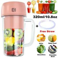 Fruit Juicer Extractor Blender Citrus Rechargeable Travel Portable Mini Mixer