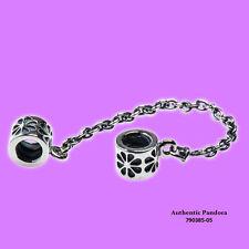 Pandora Flower Safety Chain in Sterling Silver, 790385-05