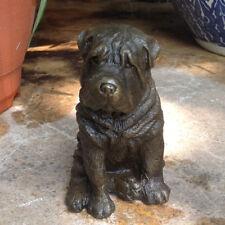 China  Art Deco handmade Sculpture Shar-pei Dog Bronze Copper Statue