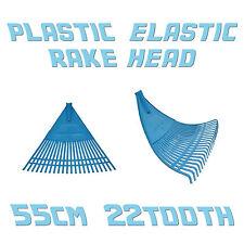 Lawn & Leaf Plastic Rake Head Heavy Duty Replacement ❀ 55cm Wide ❀ 22 Tooth ❀ EU