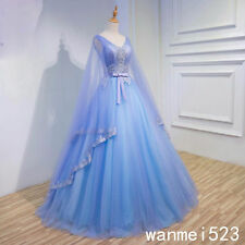 Wedding Dress Princess V Neck 2018 Gothic Medieval Bridal Gown Fairy Custom