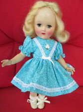 """Vintage Ideal Blonde Toni Doll 14""""Tall P-90 Very Good Condition New Clothes"""