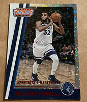 Karl Anthony Towns 2017-18 Panini Threads Dazzle #60/99 Minnesota Timberwolves