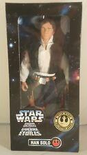 Star Wars 12 in (environ 30.48 cm) Han Solo collector series (Tri-Logo Box) ~ Neuf en boîte scellée ~