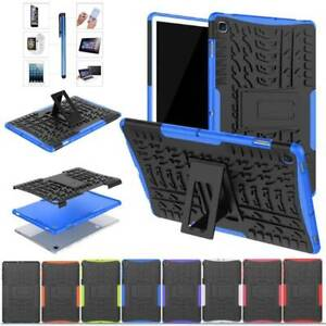 For Samsung Galaxy Tab E A S5e Tablet Rugged Stand Rubber Shockproof Case Cover