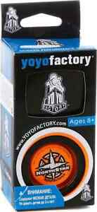 Yoyofactory Northstar | Orange | Jensen Kimmitt signature yoyo | NEW, in box