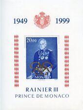 STAMP / TIMBRE DE MONACO BLOC N° 82 ** PRINCE RAINIER III