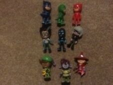 PJ Masks Gekko Catboy and Owlette figures. Baddies and others.