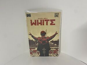 White (Black Mask Comics) #1 Cover B 2nd Ptg Kwa Mann Black AF 🔥SOLD OUT🔥