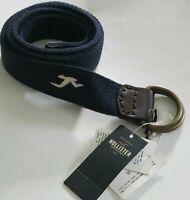 Men hollister belt  Size L/XL color Blue Nav  shipping free.