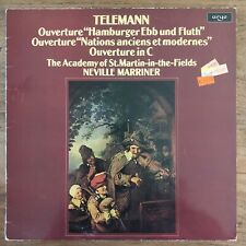 TELEMANN - THE ACADEMY OF ST.MARTIN-IN-THE-FIELDS - LP