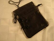 614ce460cf860 Leder Brustbeutel -schwarz- dolphin Kollektion - Nappa Rindleder - Marke  Artikel
