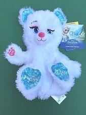 Build a Bear Disney's Frozen 17 in. White Elsa Bear Plush Toy - Unstuffed - NEW
