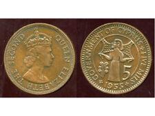 CYPRUS  CHYPRE  5  mils 1955  ( aus )