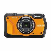 RICOH Waterproof Digital Camera WG-6 Orange WG-6OR03851 w/ Tracking NEW